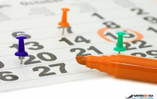 Waterski SA calendar